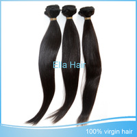 "100g Full Straight Malaysian Virgin Human Hair Extension On Sale 3pcs Mixed Lot 8""-30"" Natural Black 5A Queen Hair Free Shipping"