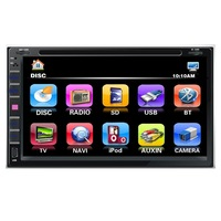 6.95  inch car dvd player with reversing camera