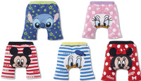 Free shipping 6pcs/lot Hot sale! cartoon kids PP pants baby trousers kid wear busha new model