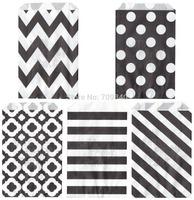 88 Assorted Designs of Flat Popcorn Bags in OPP Packaging (100 packs/1,200 pcs)