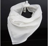 Freeshipping 6Pcs/ Pack NewBorn Baby Infant handkerchief Gauze Muslin Square Bamboo Bath Wash cloths bibs Towel 40*40cm