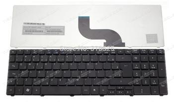 New Brazilian BR  keyboard for Acer Aspire 5536 5538 5736 5750 7750 Nsk-alc1d Nsk-alc1b Black Laptop Keyboard Free shipping