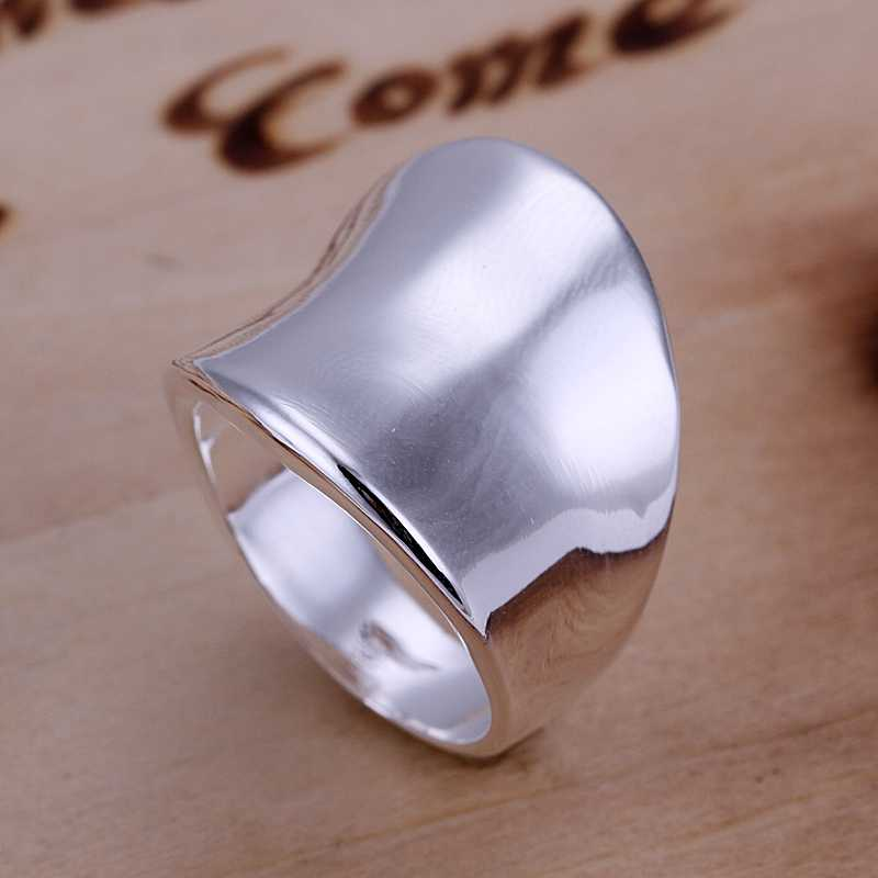 Free Shipping 925 Sterling Silver Ring Fine Fashion Thumb Ring Women&Men Gift Silver Jewelry Finger Rings SMTR052(China (Mainland))