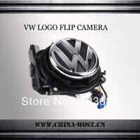 VW logo flip reversing camera oem rear view camera for Volkswagen