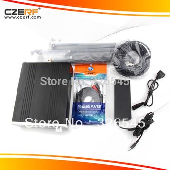 Free Shipping CZE-T251 25W Stereo Wireless FM Transmitter Kits