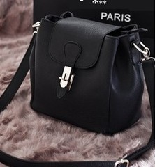 Fashion designer ladies&#39; patent pu leather bags women casual handbag hot sale vintage shoulder bags tote bag(China (Mainland))