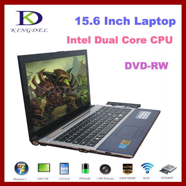 Factory Price 15 inch Notebook computer laptop Intel Celeron 1037U 1.8Ghz Dual Core+2GB RAM+500GBHDD+DVD-RW+1080P HDMI,Windows 8(Hong Kong)