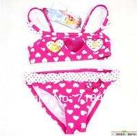 girls baby kids bikini swimsuit two pieces tankinis set minnie princess swim suit children swimwear  suits cheap wholesale 1