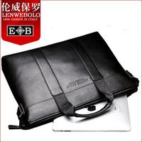 Hot sale!! LENWE BOLO Men Business Briefcase Handbag men shoulder bag/laptop bag,free shipping
