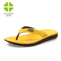 HOT SALE Hot selling men summer fashion flip flops 5 colors 39-44 natural rubber wholesale and retail male sandals