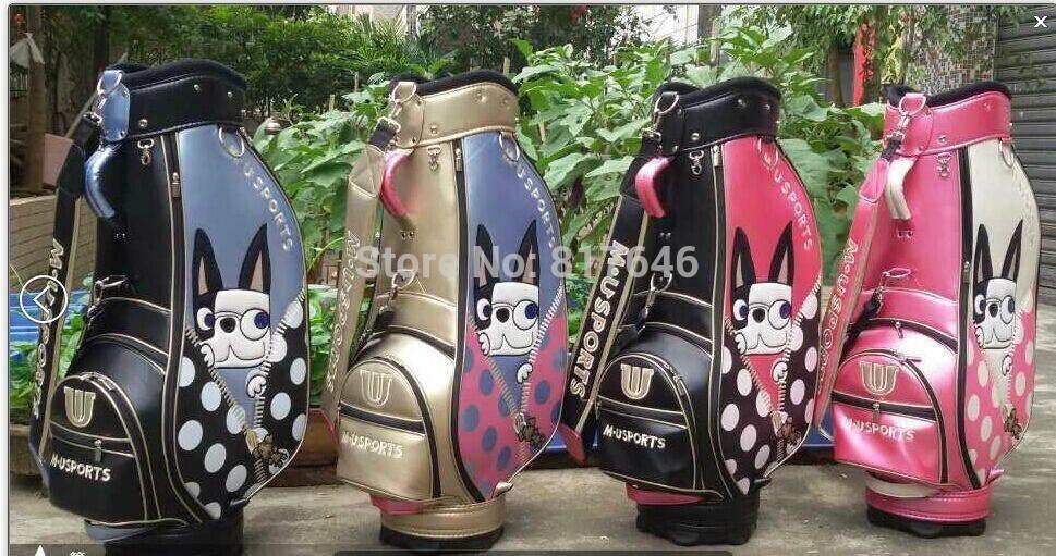MU sports 2014 Pastel Color Caddie Cart Bag - Cheap Golf Bag(China (Mainland))