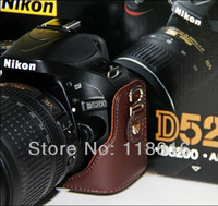 Free Shipping camera case camera bag for Nikon D5100 D5200 Camera with 18-55mm or 18-105mm lens