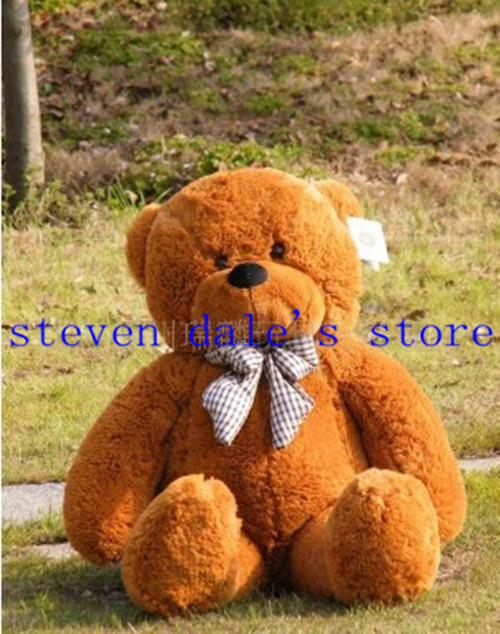 Plush toys large  teddy bear 80cm big embrace bear doll  lovers&Christmas Gifts Birthday Gift