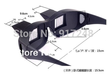 Lazy Creative Periscope Horizontal Reading TV Sit View Glasses On Bed Lie Down Bed Prism Spectacles The Lazy Glasses