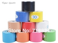 MOQ 1PCS High quality Kinesiology Tape 5 cm * 5meters Kinesio tape