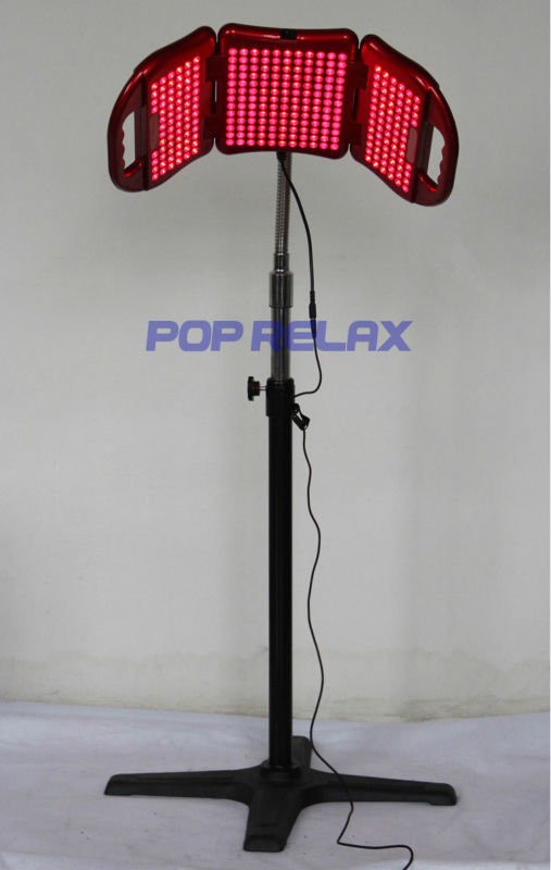 PHOTON LED LIGHT THERAPY MACHINE FROM POP RELAX PR-L01 Red(China (Mainland))