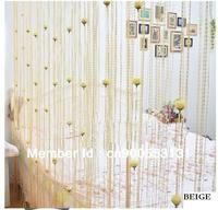 Free shipping- 280cmX280cm Rose flower String curtain, string panel, fringe panel, room divider, wedding drapery
