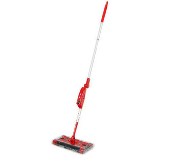 Electric Cordless 2nd Gen Quad Brush Floor Sweeper with Swivel Head & Rechargeable  Battery