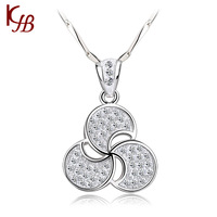 Free shipping !!!  925 sterling silver necklace  Windmill necklace  For Women