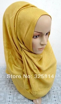 Wholesale New Fashion Multicolor Cotton Long Scarf Tiwll Muslim Sequare Hijab,Arabic Scarf (About 170*65cm)Free Shipping
