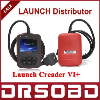 100% Original Code Reader Launch Creader VI+ communicates with all OBD2/CAN Creader VI Plus + GIft Super Mini ELM327 bluetooth