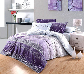 Free Shipping 2013 New Diamond velvet 4 pcs bedding sets Charm impression duvet cover Bedding sheet bedspread pillowcase