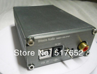 Finished HIFI DAC Decoder CM6631A+CS4398+OPA2132 24Bit/192Khz USB input with RCA  headphone and COAX output