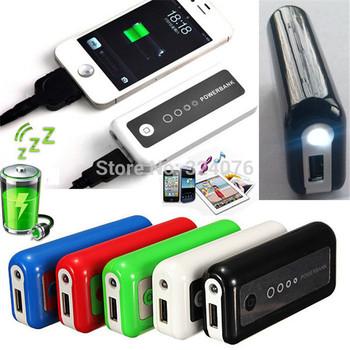 Multi-color 5200mAh Universal Power Bank Backup External Battery Portable USB Phone Charger