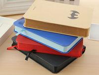Free shipping 2014 Hot superman series hardcover notebook,superman,batman,iron man, captian of america for choose