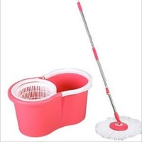 Hand Press PP Basket Magic Mop