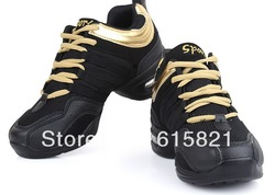 Hot Sale dance sneakers dance shoes Breathable mesh upper woman dance sports shoes,air cushioned heel 4 color,size35-40(China (Mainland))
