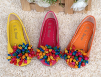 New 2013 Korean Style Beading Princess Mary Jeans Shoes School Shoes for Girl Kids Girl Dance Shoes Party Girl shoes for pearls