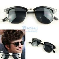Black Sunglasses 2013 Vintage Fashion Retro Framed Sunglasses Unisex Designer Glasses Free Shipping 4895