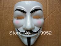 10pcs Guy fawkes V vendetta team pink blood scar masquerade masks Halloween carnival Vendetta mask