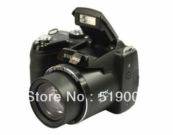 "NEW  DC-D5000 D5000  digital camera with 16.0MP CMOS 3.0""color LCD 21x optical zoom,5x Digital zoom,Anti-shake,Face Detection"