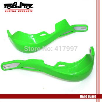 "BJ-HG-001 Green 7/8"" Handguards For Honda Kawasaki Yamaha Dirt KTM MX ATV hand guards"