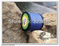 wholesale-free shopping-2000m braided fishing line dyneema blue