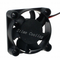 Freight  free (10 pieces/set) 2pin 4CM 40MM 4010 DC 12V Mini Cooling Fan 40x40x10mm Exhaust Fan