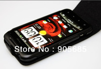 Original Full Flip Leather Cover Case Pouch For HTC Incredible S G11 Bag Protector Free Shipping