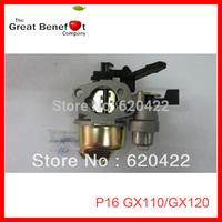 Free Shipping P16,gasoline engine spare parts,carburetor, fit for JAPAN HONDA brand GX110/GX120