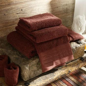 Microfiber Bath Towel / 80*40CM, 180G Five Star Hotel 100% Cotton Spiral Plain Weave Face Towel, Coffee Color, High-Quality G002