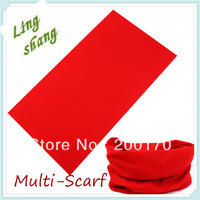 2013 Factory Wholesale Price Fashion Blanks Neck Tubular bandana (Solid color) blank solid bandana material