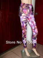 2013 hot selling fashion one size 4 colors sexy tights fireworks leggings galaxy legging fireworks print pants fireworks tights