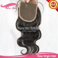 Body wave human hair top closure virgin brazilian lace closure queen hair products lace closure cheap closure fast shipping