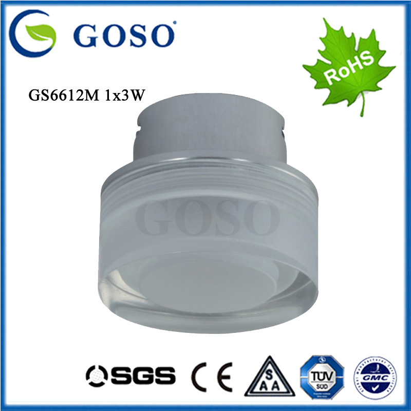 1X3W LED Aisle Light high quality PMMA Acrylic decoration material led wall light from led manufacturers(China (Mainland))