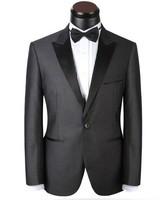 2014 Free Shipping Slim Custom Fit Tuxedo Brand Fashion Bridegroon Men's Business Dress Suits Blazer S - 5XL Jackets+Pants