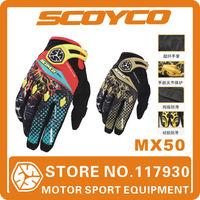 2014 New Original Scoyco MX50 Motorcycle Gloves Motorbike Motocross ATV Off-rod Gloves Protective worldwide Free Shipping