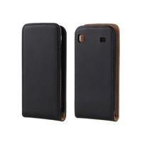 For Samsung Galaxy S i9000 / Galaxy S Plus i9001 Genuine Leather Flip Case  + Free Shipping