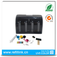 Universal 4 Color CISS kits with all accessaries with ink tank for Epson for HP for Canon for Brother printers CISS DIY kits