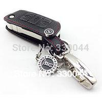 Genuine Leather car Key Cover for Volkswagen Eos POLO Touran Jetta Beetle Golf GTI Tiguan Passat Scirocco Multivan Caravelle